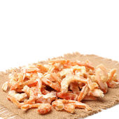 Dried shrimps — Stock Photo