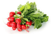 Radishes for salad — Stock Photo