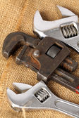 Pipe wrenches — Stock Photo