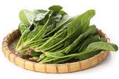 Fresh spinach bunch — Стоковое фото