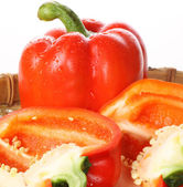 Peppers heap — Stock Photo