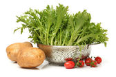 Natural vegetables — Stock Photo