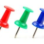 Colored thumbtacks — Stock Photo #44900189