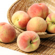 Basket of Peaches — Stock Photo #44927081