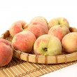 Basket of Peaches — Stock Photo #44927095