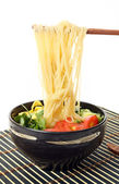 Noodle in bowl — Stock Photo