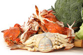 Crabs heap — Stock Photo