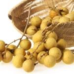 Basket of longans — Stock Photo #44956609