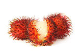 Exotic Rambutans — Zdjęcie stockowe