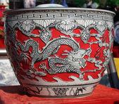 Chinese porcelain — Stock Photo