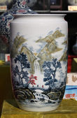 Chinese porcelain — Stock Photo