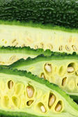 Sliced gourd — Stock Photo