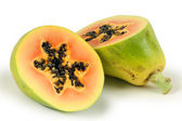 Cutted papaya — Stock Photo