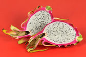 Halves of dragon fruit — Stock Photo