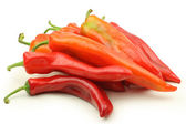 Chili peppers heap — Stock Photo