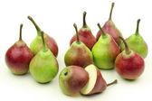 Naturliga päron — Stockfoto