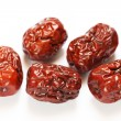 Oriental red dates — Stock Photo