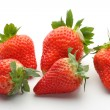 Handful of strawberries — Stock Photo