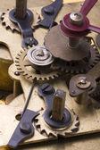 钟表齿轮relojes de engranajes — Foto de Stock