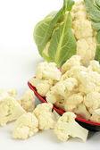 Cauliflower in bowl — Stock Photo