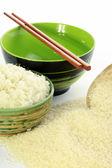 Rice in  bowl — Stock Photo