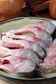 Plný talíř ryb — Stock fotografie