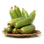 Green cucumbers — Stock Photo