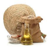 Olej z nasion słonecznika — Zdjęcie stockowe