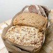 Three types of bread — Stock Photo #14471467