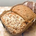 Three types of bread — Stock Photo #14471509
