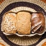 Three types of bread — Stock Photo #14471625