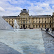 Louvre museum in Paris, France. — Stock Photo