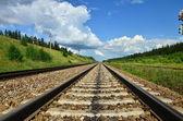 μεγάλο σιδηροδρομικό — Φωτογραφία Αρχείου