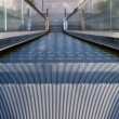 Escalator downward — Stock Photo