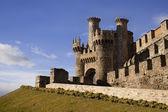Castelo dos templários em ponferrada. — Foto Stock