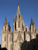 Barcelona Seu Cathedral — Stock Photo