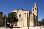Romanesque monastery of Sant Cugat — Stock Photo
