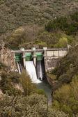 Montearenas Dam in Ponferrada, El Bierzo, Spain. — Stock Photo
