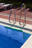Pool ladder. — Stock Photo