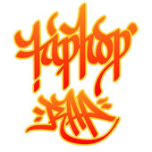 Hip-hop Rap — Stock Vector