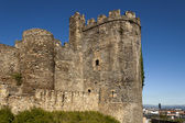 Ponferrada templar castle tower. — ストック写真