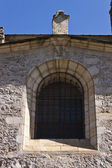 Sundial in Collegiate Church of Santa Maria — Stock Photo