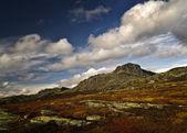 The peak Bitihorn at the edge of Jotunheimen. — Stockfoto