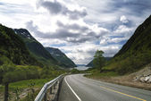 Maurangerfjorden — Stock Photo