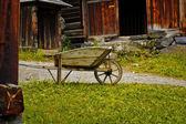 Old wheelbarrow — Stock Photo