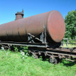 Rail tank car — Stock Photo