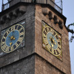 Innsbruck clock — Stock Photo #14726357