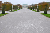Belvedere Palace — Stock Photo