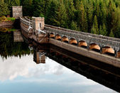 Laggan Dam — Stock Photo