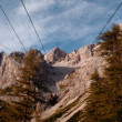 Stock Photo: Dachstein south wall